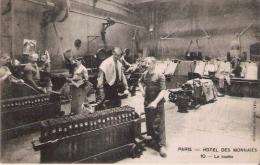 PARIS HOTEL DES MONNAIES 10 LA COULEE (BELLE ANIMATION) 1924 - Petits Métiers à Paris