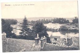 - 78. MANTES . Le Port Pris De La Place Du Chateau Neuve  Excellent état - Mantes La Jolie