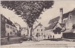 68 - GUEBWILLER   Place Du Marché Arbre De La Liberté - Guebwiller