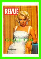 ARTISTES, MARILYN MONROE - REVUE MAGAZINE, 1959 - METRO MUSIC - - Artistes
