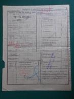 Récépissé En  1901 Chemin De Fer P L M  > Gare De LYON Sté Laurent Quai Scize > DIGNE  Seyne 04  Salvat Quincaill. - Transport