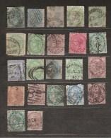 Lot De Timbres Inde Britannique Type Victoria Cote Environ 30 Euros - Inde (...-1947)
