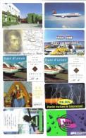 Lotto 10 Schede Telefoniche Nuove 5000+10000 Lire Tot 65000 Lire Cod.schede.043 - Italien