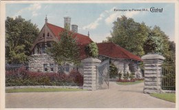 Entrance To Forest Hill Cleveland Ohio  1915