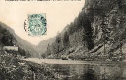 Le Doubs Après Le Saut - France
