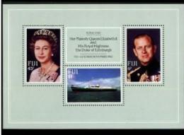 Fiji 1982 Yvertn° Bloc 3 *** MNH Cote 6,00 Euro Bateaux Ships Boten - Fidji (1970-...)