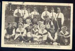 Cpa  Du 66 Amélie Les Bains -- Groupe De Danseurs Et Musiciens Catalans    AA20 - France