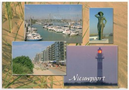 Nieuwpoort - Phare, Vuurtoren, Lighthouse Leuchtturm - Nieuwpoort