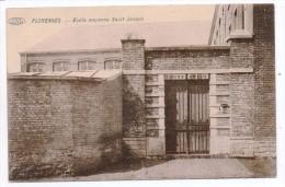 31558  -  Florennes   école  Moyenne  St  Joseph Bon étatenvoyé Dans Enveloppe - Florennes