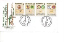 Guerre 40/45 - Unités De Guérilla ( FDC Des Philippines De 1992 à Voir) - Seconda Guerra Mondiale