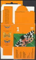 Finland 2008 Empty Stamp Box: Garden Tiger Moth (Arctia Caja) - Butterflies