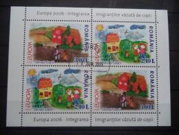 2006 Romania - EUROPA - CEPT  -  Block - Used MNH - Europa-CEPT