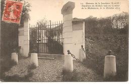 14. HAMEAU DE LA JONCHERE. SEPULTURE DE SOLDATS TUES AU COMBAT DE LA MALMAISON. LE 11 OCTOBRE 1870. - Sin Clasificación