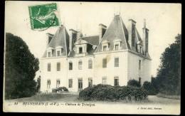 Cpa  Du 35 Bonnemain -- Château De Trémigon   AA20 - France