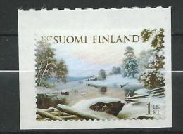 Finland 2007 Winter Landscape - Haminalahti.MNH Neuf - Unused Stamps