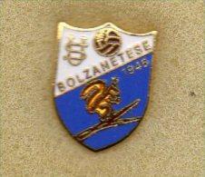 U.S. Bolzanetese Calcio Distintivi FootBall Soccer Spilla Italy Bolzaneto Genova Pins - Calcio