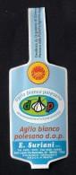 # AGLIO SURIANI Italy Garlic Tag (type 3) Balise Etiqueta Anhänger Cartellino Vegetables Gemüse Legumes Ail  Verduras - Fruits & Vegetables