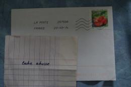 4-40 La Poste 25759A Saint Marcelin Fruit Agrume Orange - Adhesive Stamps