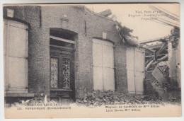 Poperinge, Poperinghe, bombardement Kantenwinkel Mme Billiau, Vlamingstraat (pk22443)