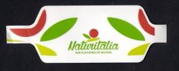 # PESCHE NETTARINE NATURITALIA Italy Tag Balise Etiqueta Anhänger Cartellino Fruits Raisins Trauben Peaches Peches - Fruits & Vegetables