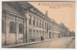 Poperinge, Poperinghe, 1919, Klooster der Damen Paulinen en Boeschepe straat (pk22447)