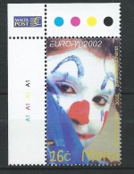 Malta 2002 Circus.EUROPA.MNH NEUF - Malte