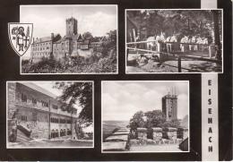 AK Eisenach - Mehrbildkarte - 1967 (17552) - Eisenach