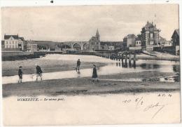 WIMEREUX  Le Vieux Port TB Precurseur Timbre Décollé - Autres Communes