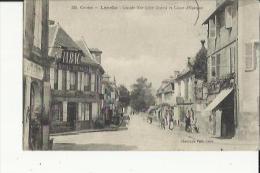 L'Arche  19    La Grande-Rue (Coté-Ouest) Animée Et Caisse D'Epargne-Epicerie-Hotel Et  Bureaux De Tabac - Sonstige Gemeinden