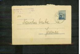 Jugoslawien / Yugoslavia / Yougoslavie  Postal Stationery Letter 2 - 1945-1992 République Fédérative Populaire De Yougoslavie