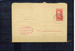 Jugoslawien / Yugoslavia / Yougoslavie  Postal Stationery Letter 7 - 1945-1992 République Fédérative Populaire De Yougoslavie