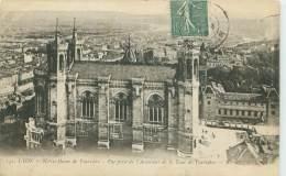 69 - LYON - Notre-Dame De Fourvière - Vue Prise De L'Ascenseur De La Tour De Fourvière - Lyon