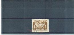 POLEN , Poland , 1946 /1950 , Oo , Used , Gestempelt , Mi.Nr. Portomarke 104 A - Postage Due