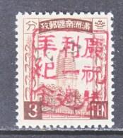 MANCHUKUO  LOCAL  PIN  HSIEN   NE 348      ** - 1932-45 Mantsjoerije (Mantsjoekwo)