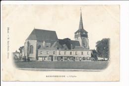 Carte De  BOURGTHEROULDE  ( Peu Courante )  ( Recto Verso ) - Bourgtheroulde