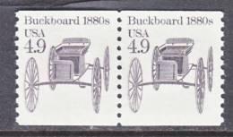 U.S. 2124 X2  **  BUCKBOARD - Coils & Coil Singles