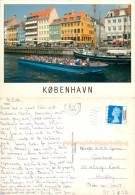 Nyhavn, Copenhagen, Denmark Postcard Posted 2006 Stamp - Danemark