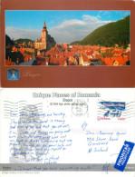 Brasov, Romania Postcard Posted 2005 Stamp - Roemenië