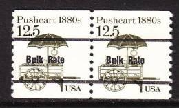 U.S. 2133aX2     **   PUSHCART - Coils & Coil Singles