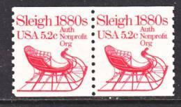 U.S. 1900 X2  **  SLEIGH - Coils & Coil Singles