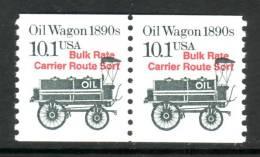 U.S. 2130ax2    ** OIL WAGON - Coils & Coil Singles