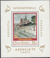 RUMANIA, 1975 ARPHILA MINISHEET MNH - 1948-.... Republics
