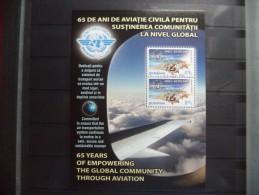 2010 Romania - Transport , Airplanes , Aviation , O.A.C.I. - Block - Used MNH - Aviones