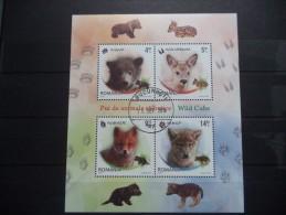 2012 Romania - Wild Cubs , Animals , Fauna - Block - Used - MNH - Sellos