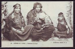 CPA   Scenes Et Types  Femmes Du Sud   Num 49    GROS PLAN  Ecrite - Algérie