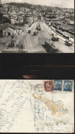 1355) GENOVA SAMPIERDARENA VIA BRUNO BUOZZI VIAGGIATA 1949 ANIMATA TRAM CARRI TRENI - Genova (Genoa)