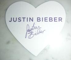 Carte Parfumée Justin Bieber - Modern (from 1961)