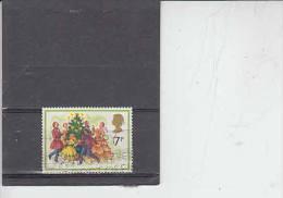 GRAN BRETAGNA 1978  - Unificato  876 - Danza - Natale - 1952-.... (Elisabetta II)