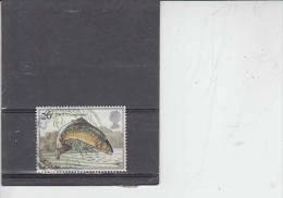 GRAN BRETAGNA 1983 - Unificato  1069 - Pesce - 1952-.... (Elisabetta II)