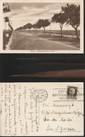 1362) ROMA AUTOSTRADA ROMA OSTIA VIAGGIATA 1939 NITIDA TARGHETTA MOSTRA INVENZIONI - Unclassified